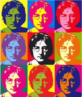 John-Lennon-Andy-Warhol